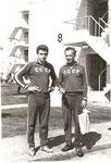 С А.Н. Николаевым в Олимпийской деревне. 1964 год. Токио