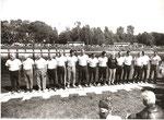 Строй Олимпийских чемпионов. Гонка Олимпийских чемпионов. 29 мая 1993 года. Петербург