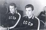 Напарники с Олегом Тюриным