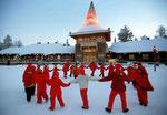 Santa Claus Village, Rovaniemi, Finnland