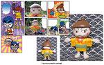 『Vジャンプ』(集英社)「斉藤寝具店」立体漫画用フィギュア製作