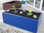 Hochbeet Urban blau 1,5m x 0,75m