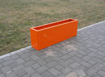 Hochbeet Urban orange in 1,1m x 0,3m
