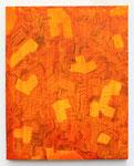 """Untitled"". 17"" x 21"". Acrylic on canvas. 2013."