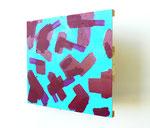 """Untitled"". 34"" x 28"" x 16"". Acrylic on wood. 2013."