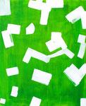 """""""Camp Bullis"""". 32"""" x 47"""". Acrylic on canvas. 2013."""