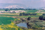 THE RIVER JORDAN IN ECOLOGICALLY BETTER DAYS  © DA-B