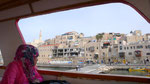 THE PORT OF JAFFA SEEN FROM THE DECK OF A TOURIST BOAT  © DA-B