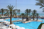 A HOTEL SWIMMING POOL AT THE DEAD SEA  © DA-B