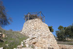 A REPLICA OF A VINEYARD TOWER AT TANTUR © DA-B
