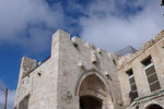 PART OF THE ORIGINAL JAFFA GATE IN THE OLD CITY OF JERUSALEM  © DA-B