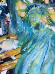 """Liberty"" Acryl auf Leinwand  30 cm x 40 cm"