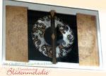 "Bild ""Wellen-Ornament"" 120 x 70 cm / Acryl"