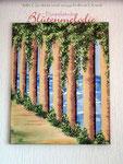 "Reliefbild ""Säulengang"" 70 x 50 cm / Acryl"