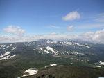 トムラウシ山・白雲岳山頂から