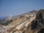 上ホロカメットク山からの十勝岳