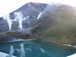 旭岳と姿見の池