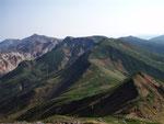 富良野岳からの十勝岳
