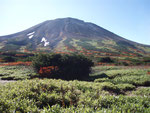 旭岳・当麻岳登山道から