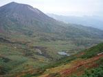 当麻岳登山道からの旭岳
