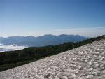 緑岳登山道からの石狩岳