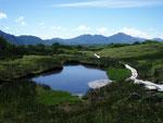 五色岳登山道からの石狩岳