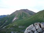 石垣山からの美瑛岳
