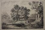 Charmier 3, La rivière et le petit pont,  1844