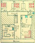 Skizze der Wohnung