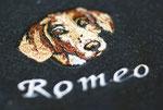 Hundemänntelchen Detail