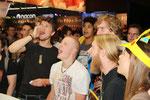 Die herrlich lauten Stammbesucher aus Solingen bei uns am Stand - Fotocredit Syfy - www.syfy.de