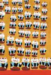 「住吉さんの初辰猫」毎月最初の辰の日に末社の楠桾社に詣で招き猫を授かる。 4年休まず続けて48体体授かると満願。 商売繁盛、始終発達(48辰)となる。
