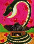 「かにの恩がえし」京都南山城・蟹満寺「今昔物語」
