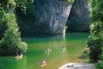Les gorges du Tarn en canoé