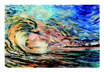 Welle 2.0 Acryl und Lack auf Leinwand 150 x 100 cm
