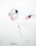 弾 / To Bounce, 2010, collage, watercolor, pencil, Colored pencil on paper, 50×39 cm(19.7×15.4 in)