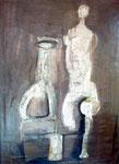 46. Ohne Titel, 1965, 120x85 cm, Öl
