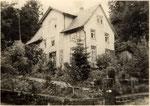 Hirschs Haus Mitte der 1950er Jahre
