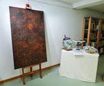 Anna Schivai  - Porcellane dipinte a mano - olio molle
