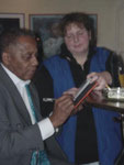 Mit Jimmy Woody 11. Januar 2001
