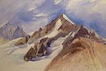 Weisshorn Wallis  Bildgrösse   83 x 61 cm