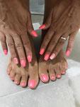 Ricostruzione unghie mani e piedi - Centro Estetico Nefertari Anzio