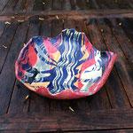Steinzeug, Unterglasuren, Schablonen  27 cm  H: 8 cm