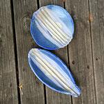 Steinzeug glasiert  ø 24,5 cm, L: 30 cm