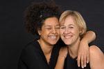 Jane Walters und Birgit Gentner