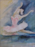 Tänzerin, Aquarell
