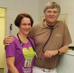 Dr. Susanne Klimm mit Ihrem Vater Prof. H.-D. Klimm