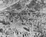St-Lo nach der Schlacht - Ein Ruinenfeld VIII