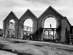 Der völlig zerstörte Gare Maritime II