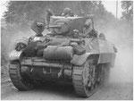 Leichter Panzer Stuart V der 7th Armoured Division